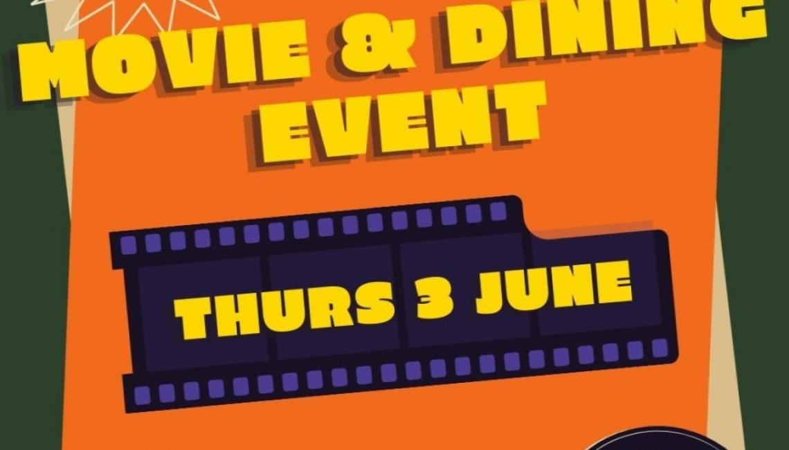 movie and dining event