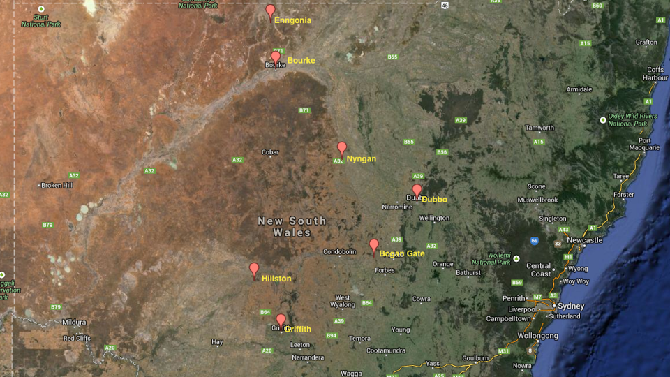 Image of areas where Gordon Pymble have made a difference our west.